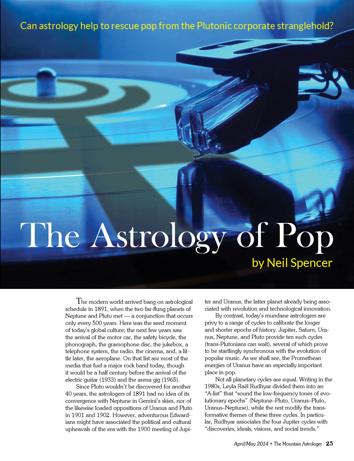 The music and astrology terra astrology recently i had an opportunity to review a new april may issue of one of the biggest world astrological magazines the mountain astrologer under the title geenschuldenfo Image collections